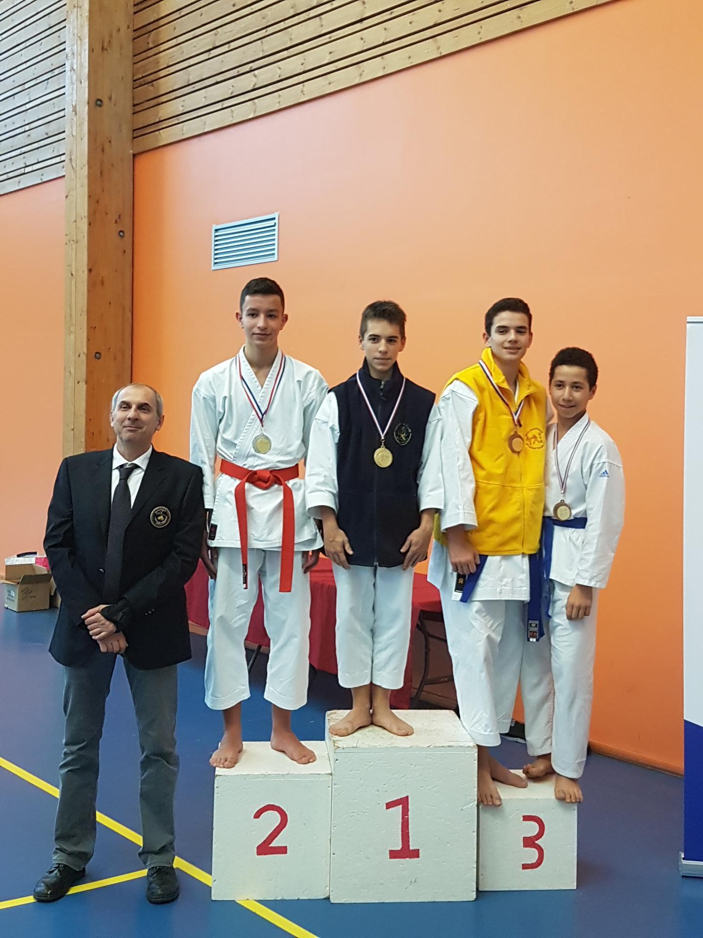 coupe et championnat départemental Kata - 18112018