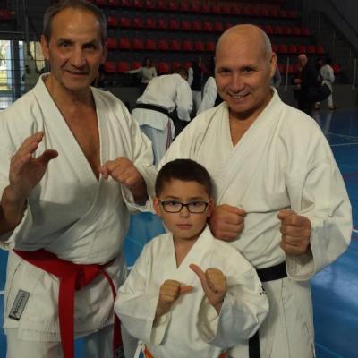 Bernard Bilicki avec Alexandre et Carl 22 11 2014