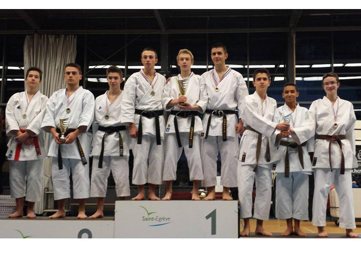 cadet-junior kata équipe ligue 2 02 2014