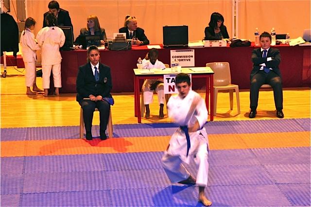 championnat Isère kata 9 11 2014