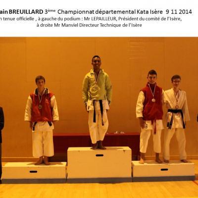 championnat Isere kata