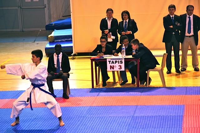 championnat kata Isère 9 11 2014
