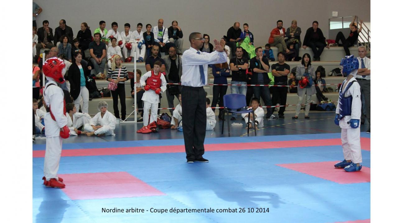 coupe départementale combat 26 10 2014