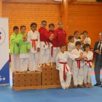 Podium Championnat dpt kata 5 11 17