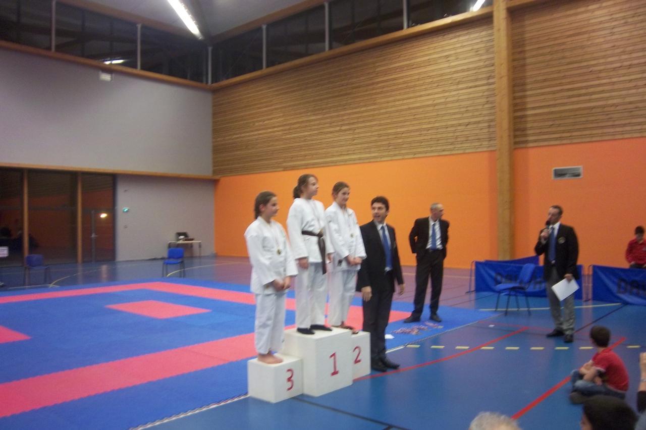 Elise TROIA médaille de bronze coupe déptale isère  kata 6 01 2013 (3)