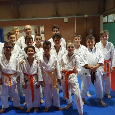 karate 9-12 ans septembre 2017