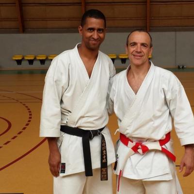 Nordine avec Didier Luppo 8 11 2014