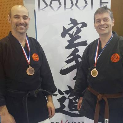 Pascal 3è coupe de France kobudo 2016