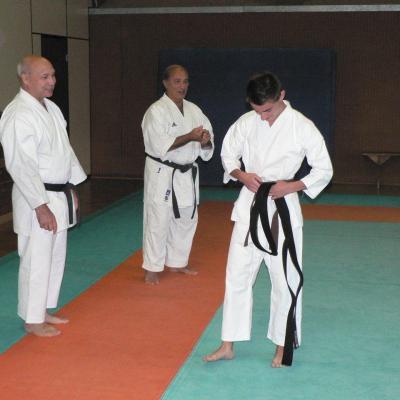 Robin Fayolle 24 06 2012 remise de ceinture noire