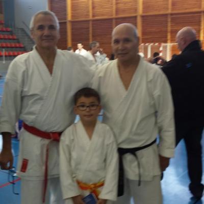 Serge Chouraqui avec Alexandre et Carl 22 11 2014