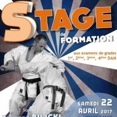 Stage formation aux grades 22 04 2017