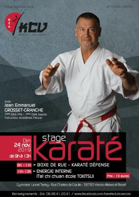 Affiche stage karate nov2019 print hd